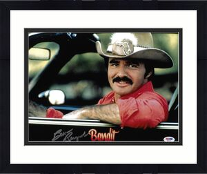 Burt Reynolds Signed 11x14 Smokey and the Bandit Photo - Trans Am PSA 2