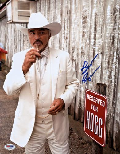 Burt Reynolds Signed 11x14 The Dukes of Hazzard Photo -  Boss Hogg PSA/DNA