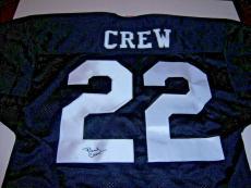 Burt Reynolds Signed As Paul Crew The Longest Yard W/coa Signed Jersey