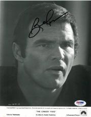 Burt Reynolds Signed Authentic Autographed 8x10 Photo (PSA/DNA) #U47401