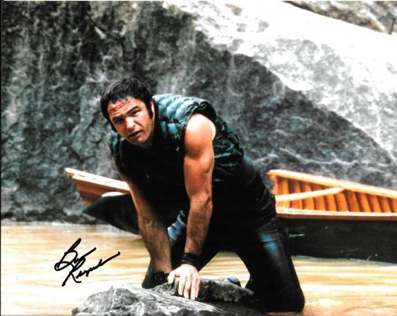 Burt Reynolds Signed Autograph 8x10 Photo Leaning Against Rock Deliverance JSA