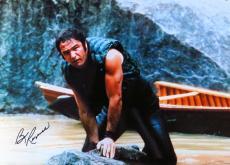 Burt Reynolds Signed Autographed 10X14 Photo Deliverance on Rock JSA COA