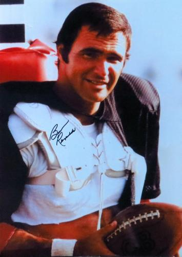 Burt Reynolds Signed Autographed 10X14 Photo The Longest Yard Holding Ball JSA