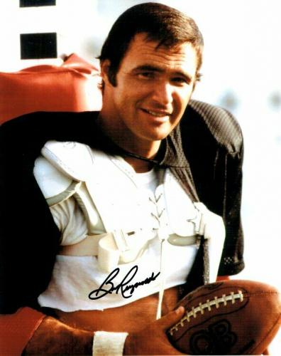 Burt Reynolds Signed Autographed 8x10 Photo The Longest Yard Holding Ball JSA