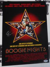Burt Reynolds Signed Boogie Nights 11x17 Photo PSA/DNA COA Auto'd Poster Picture