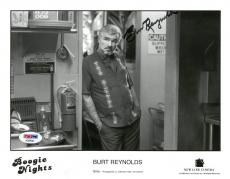 Burt Reynolds Signed Boogie Nights Autographed 8x10 B/W Photo PSA/DNA #AD59643
