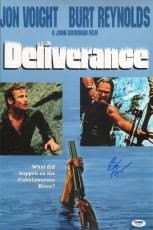 Burt Reynolds Signed Deliverance 11x17 Photo PSA/DNA COA Poster Auto'd Picture