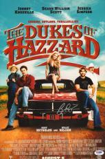 Burt Reynolds Signed Dukes of Hazzard 11x17 Photo PSA/DNA COA Autograph Poster