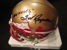 Burt Reynolds Signed Florida State Mini Helmet     Signed Twice     Rare     Jsa