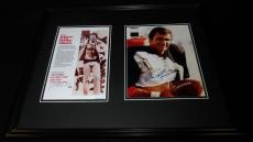 Burt Reynolds Signed Framed 16x20 The Longest Yard Photo Set