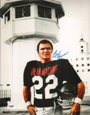 Burt Reynolds Signed Longest Yard 11x14 Photo PSA/DNA COA Autograph Picture 1974