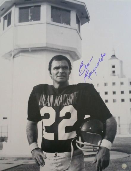 Burt Reynolds Signed Longest Yard 11x14 Photo Steiner