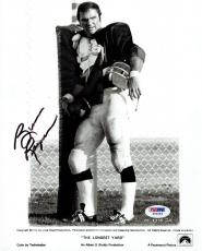 Burt Reynolds Signed Longest Yard Autographed 8x10 B/W Photo PSA/DNA #Z80583