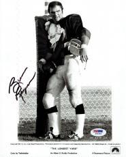 Burt Reynolds Signed Longest Yard Autographed 8x10 B/W Photo PSA/DNA #Z80583
