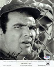 Burt Reynolds Signed Longest Yard Autographed 8x10 B/W Photo PSA/DNA #Z80585