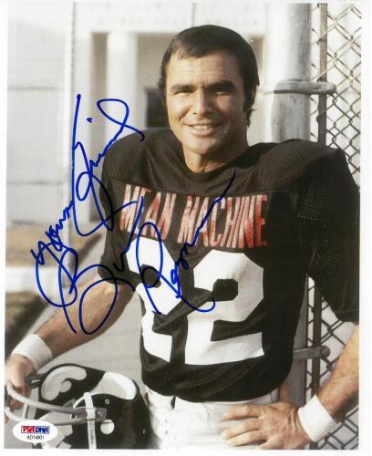 Burt Reynolds Signed Longest Yard Autographed 8x10 Photo PSA/DNA #AD14901