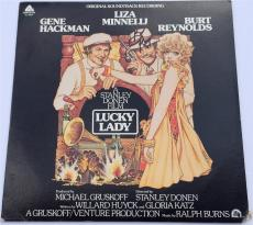"BURT REYNOLDS Signed ""Lucky Lady"" Record Album Cover JSA"