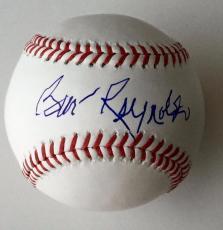 BURT REYNOLDS Signed OML Baseball JSA R61870