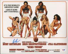 Burt Reynolds Signed Semi-Tough 11x14 Photo PSA/DNA COA Poster Picture Autograph