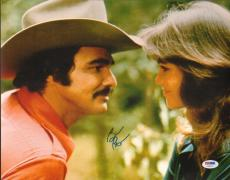 Burt Reynolds Signed Smokey & the Bandit 11x14 Photo PSA/DNA COA w/ Sally Field