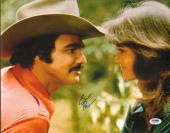Burt Reynolds Signed Smokey & the Bandit 11x14 Photo PSA/DNA COA w/ Sally Field