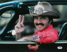 Burt Reynolds Signed Smokey & The Bandit Autographed 11x14 Photo PSA/DNA COA