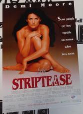 Burt Reynolds Signed Striptease 11x17 Photo PSA/DNA COA Autograph Poster Picture