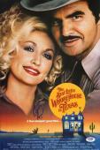 Burt Reynolds Signed The Best Little Whorehouse in Texas 11x17 Photo PSA/DNA COA
