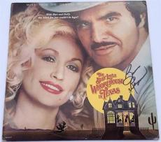 BURT REYNOLDS Signed The Best Little Whorehouse in Texas Record Album Cover JSA