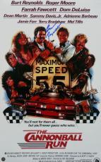 Burt Reynolds Signed The Cannonball Run 10x16 Movie Poster Steiner