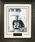 Burt Reynolds signed The Longest Yard 11x14 B&W Photo Leather Framed- Steiner Hologram (movie/entertainment)