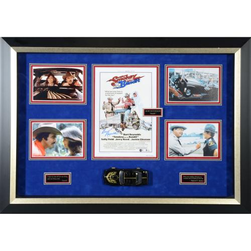 "Burt Reynolds Smokey and the Bandit Framed Autographed 45"" x 33"" Collage - BAS"