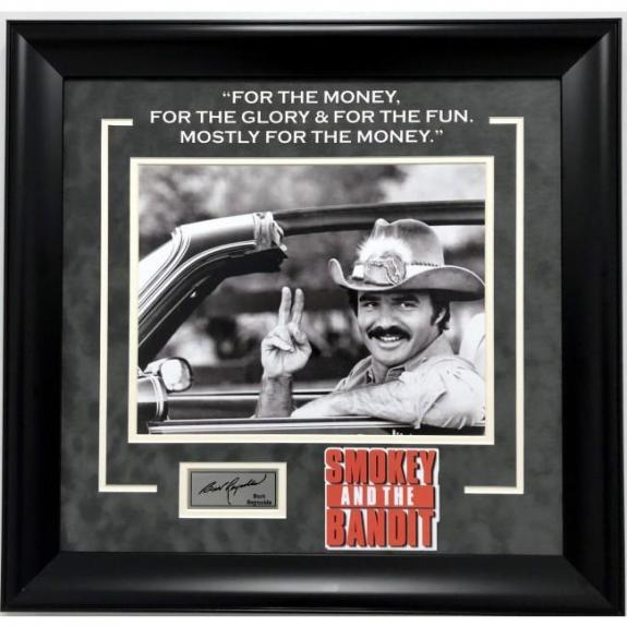 "Burt Reynolds ""Smokey and The Bandit"" Framed Photo"