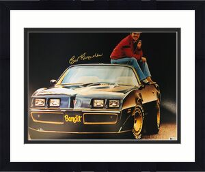 Burt Reynolds Smokey and the Bandit Signed 16x20 Photo - Beckett BAS Witnessed