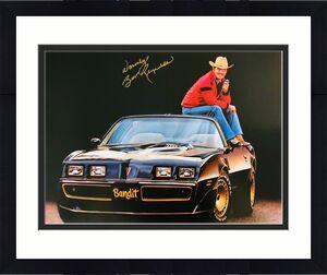 "Burt Reynolds Smokey and the Bandit Signed 16x20 Photo w/ ""Warmly"" - Beckett BAS"