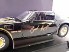 Burt Reynolds Smokey & The Bandit II Signed 1:18 Diecast Trans Am PSA Guaranteed