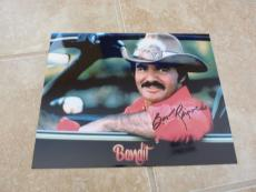 Burt Reynolds Smokey The Bandit Signed Autographed 8x10 Photo Beckett Certified