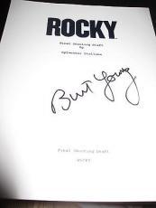 Burt Young Signed Autograph Script Rocky In Person Coa Auto Stallone Coa Auto D