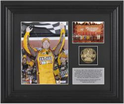 "Kyle Busch 2012 Bud Shootout at Daytona Framed 6"" x 8"" Photo - Mounted Memories"