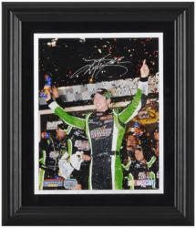 BUSCH, KYLE FRAMED AUTO (COKE ZERO) 8x10 PHOTO