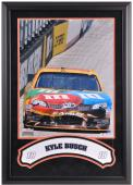 "Kyle Busch Framed Iconic 16"" x 20"" Photo with Banner"