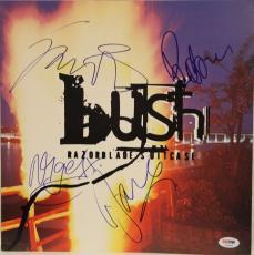 "BUSH BAND (All 4) Signed ""Razorblade Suitcase"" Promo Poster Flat PSA/DNA #T08983"
