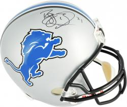 Reggie Bush Detroit Lions Autographed Riddell Replica Helmet