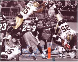 Reggie Bush Signed Picture - 16x20 Mounted Memories