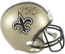 Reggie Bush Autographed Replica Helmet - Mounted Memories