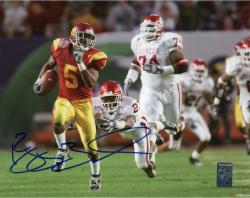 BUSH, REGGIE AUTO (USC/VS OU/RUNNING) 8X10 PHOTO - Mounted Memories