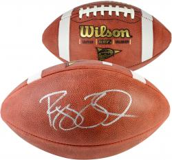 Reggie Bush USC Trojans Autographed NCAA Wilson Pro Football - Mounted Memories