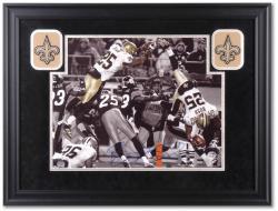 """Reggie Bush New Orleans Saints Deluxe Framed Autographed 16"""" x 20"""" Photograph"""