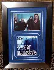 BUSH signed autographed THE SEA OF MEMORIES CD photo FRAMED PSA DNA COA GAVIN