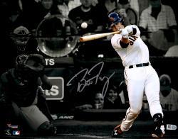 "Buster Posey San Francisco Giants Autographed 11"" x 14"" World Series Spotlight Photograph"